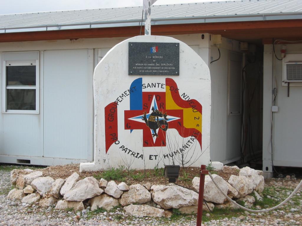 Monument à la mémoire d'un médecin militaire