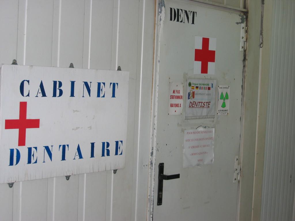 Cabinet dentaire pour les troupes (Mostar)