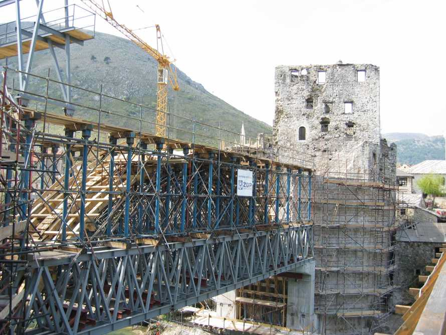 53 - Réparation pont Mostar