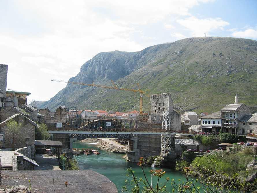 54 - Réparation pont Mostar