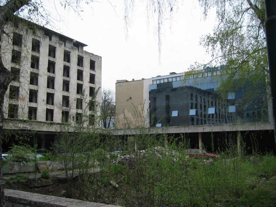 55 - Destructions Sarajevo