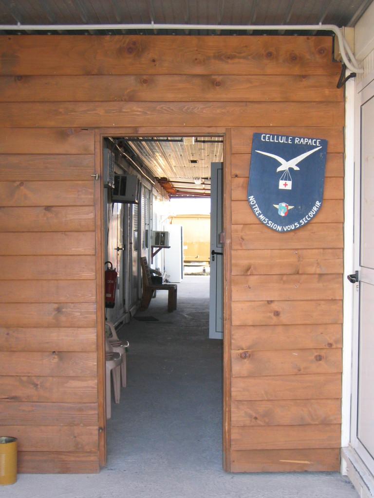 Cellule Rapace pour les évacuations sanitaires (Mostar)