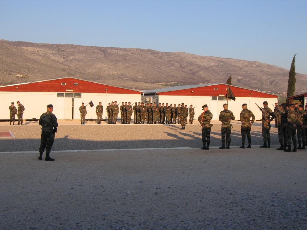 Place d'armes de la base militaire de l'OTAN (Mostar)