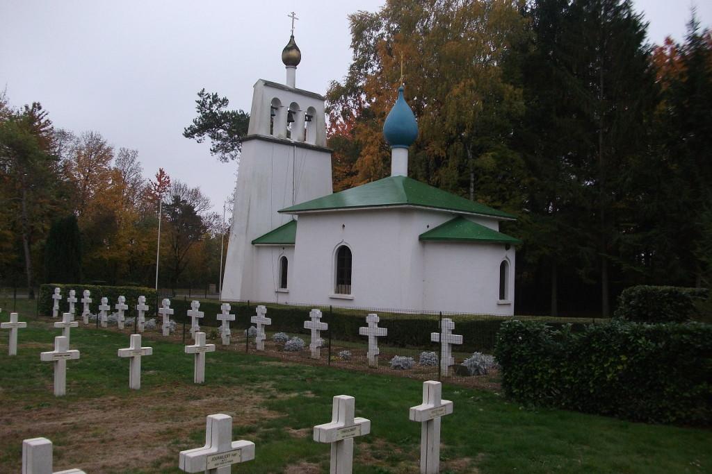 Chapelle et cimetière russe de Saint-Hilaire-le-grand
