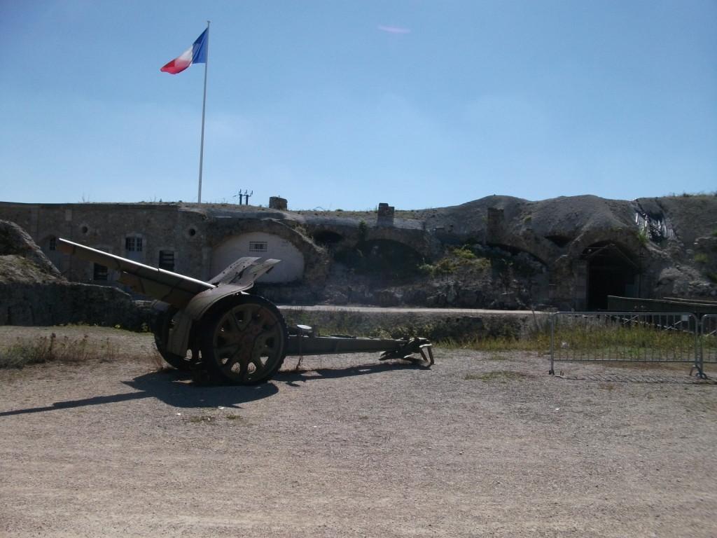 Entrée du fort de la Pompelle