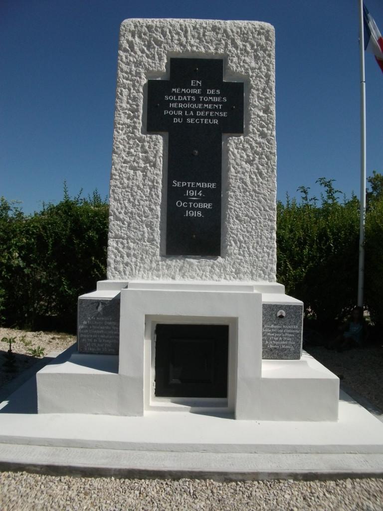Monument aux morts du Fort de la Pompelle