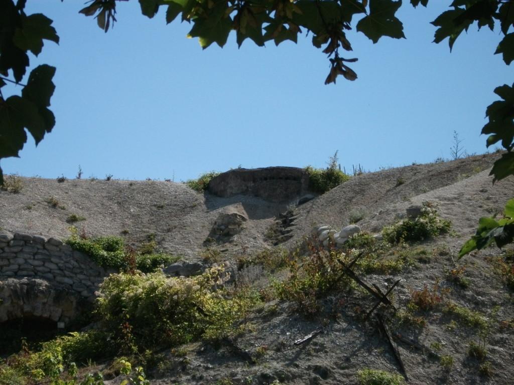 Obsevatoire sur le sommet du Fort de la Pompelle