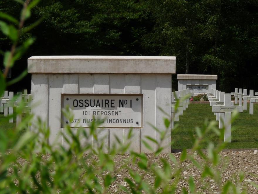 Ossuaire de soldats russes Saint-Hilaire-le-grand